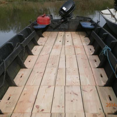 Plancher barque de Loire
