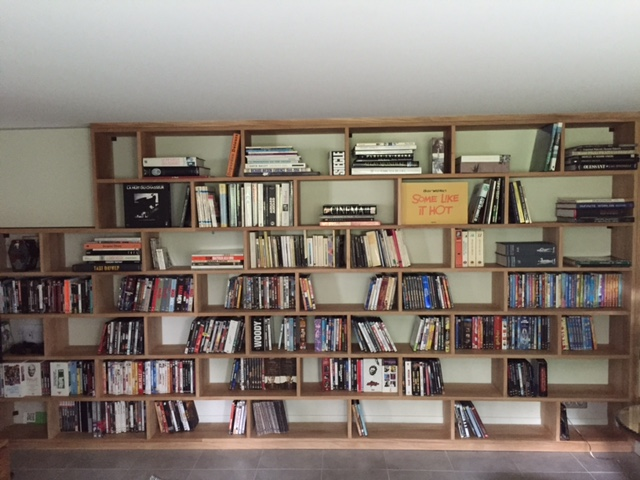 Bibliothèque chêne massif