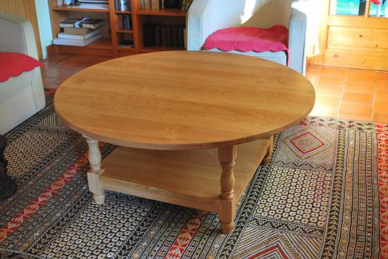 Table en châtaignier
