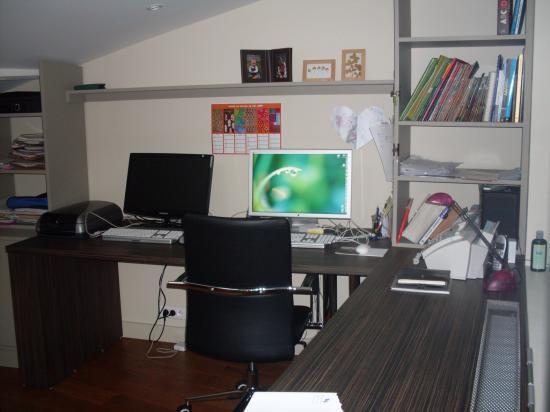agencement bureau. Black Bedroom Furniture Sets. Home Design Ideas