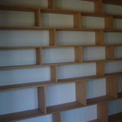 bibliothèque Hêtre massif
